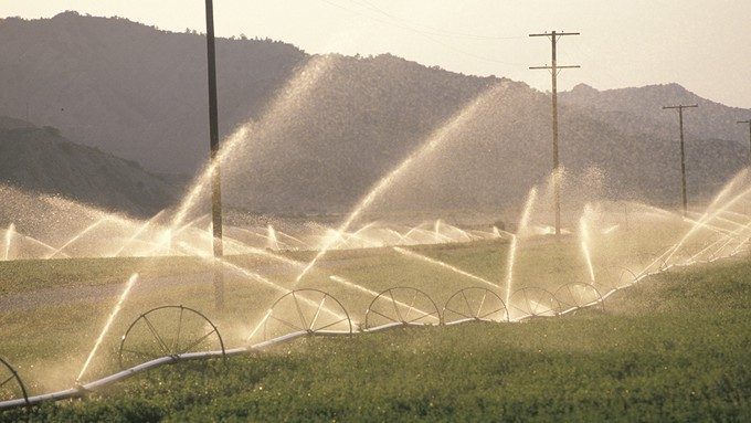 Image caption: Water is a human right under California law, but it doesn't always work out that way.