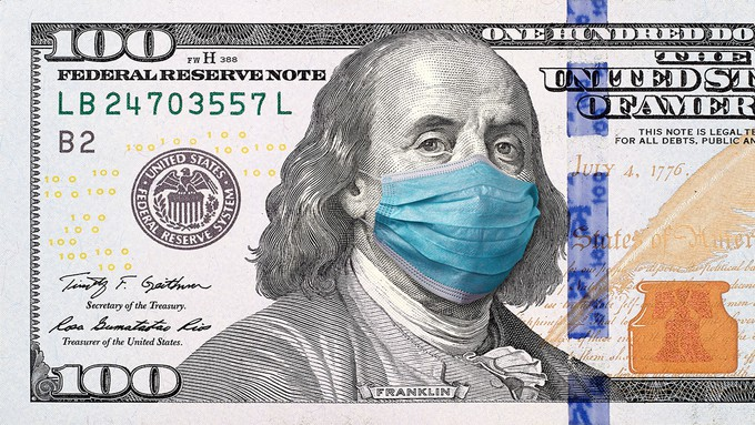 Image caption: The state's economic recovery from the pandemic has been slower than expected.