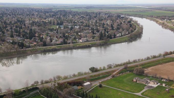 Image caption: A Stanford University study of Sacramento's sewage shows high COVID levels.