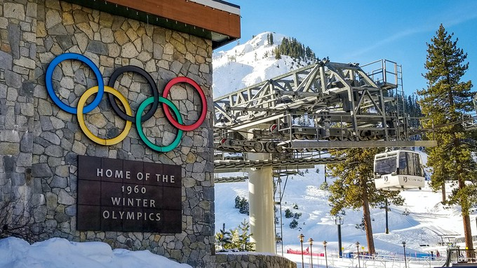 Image caption: The ski resort once called 'Squaw Valley' has changed its name, which resort owners acknowledged was racist and sexist.