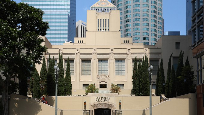 Image caption: California's library system dates back 171 years.