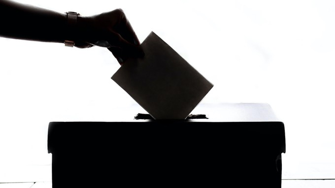 Image caption: California cities switch to more inclusive, district-based elections system.