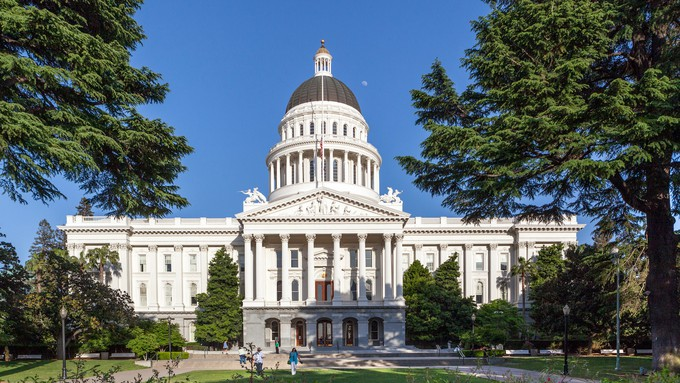 Image caption: The state legislature passed a basic income bill Thursday without a single 'no' vote.