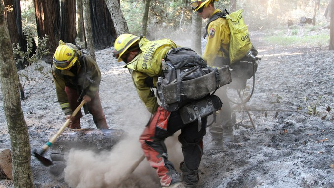 The 2020 CZU Lightning Complex Fire burned more than 86,500 acres in Santa Cruz and San Mateo Counties.
