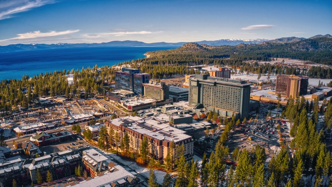 A picture of the South Lake Tahoe.